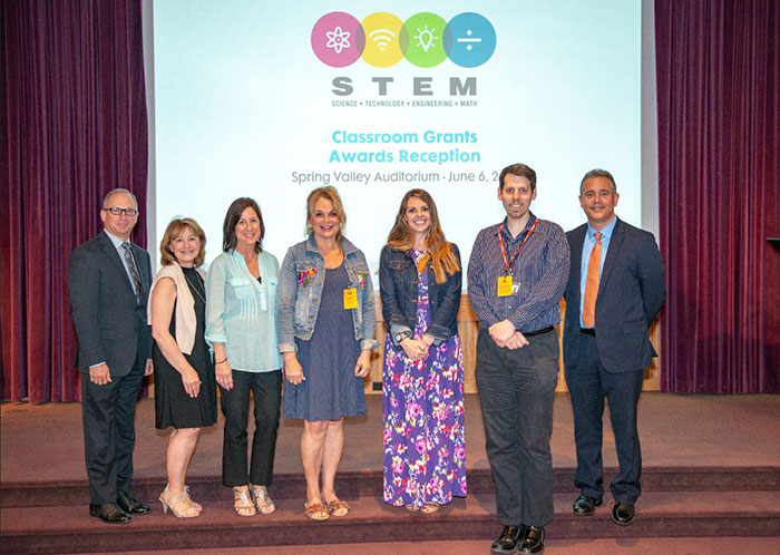 Bergen County STEM grant recipients