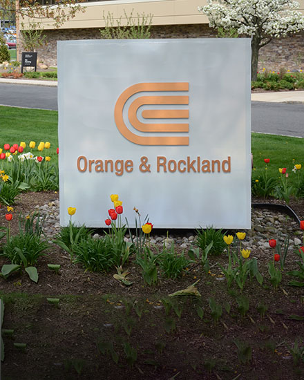 Orange & Rockland sign