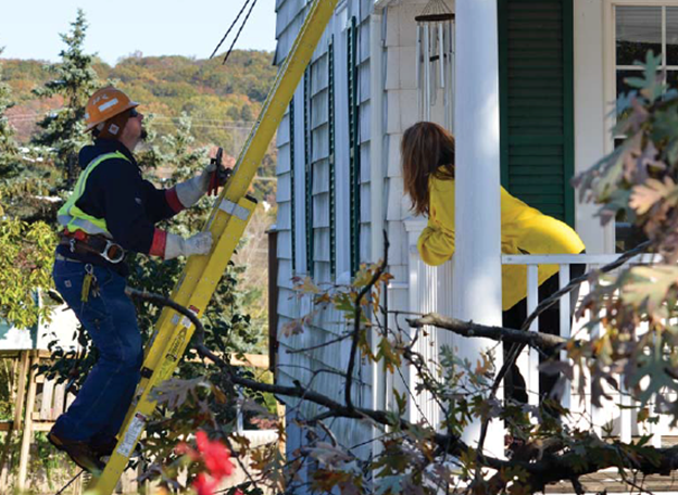 Superstorm Sandy—Damage to Power Lines